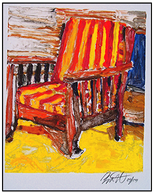Mrs. Sheid's Chair by Roger Bacharach