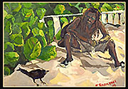 Rasta & Grackle by Roger Bacharach